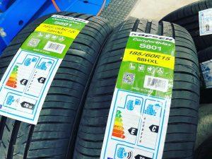 カプセンS801185/60R15タイヤ交換サマータイヤ