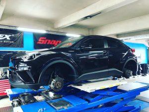 国産車トヨタC-HRのタイヤ交換 純正ミシュランプライマシー4からミシュランプライマシー4へ
