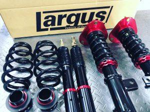 ラルグス車高調フルタップ減衰力32段調整