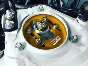 トヨタ86の車高調HKSフロントキャンバーピロ調整式