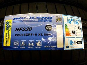 ハビリードHF330輸入ランフラットタイヤ225/45R18 激安ランフラットタイヤ