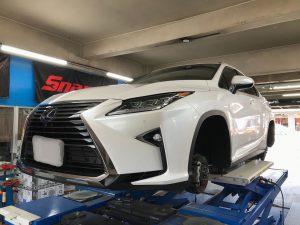 レクサスRX タイヤ交換