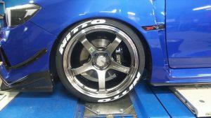 WRX タイヤレター