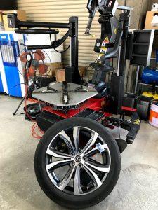 RX450h タイヤ交換 20インチ