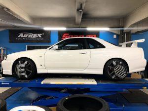 R34 GTR 車高