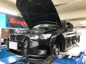 BMW E92 車高調交換