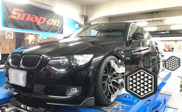 BMW E92 アライメント調整
